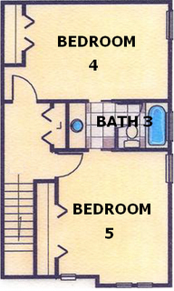 upstairs layout